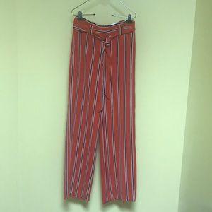 Express Pants Size 4 R Wide Leg High Rise NWT